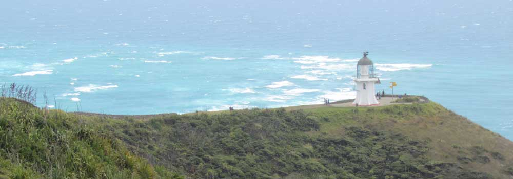 Meeting of the waters at Cape Reinga